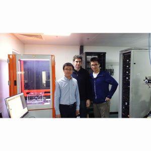 Swisslitho Nanofrazor install at Beihang University