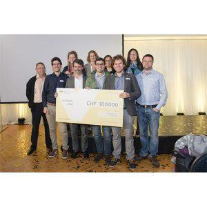 nanolive win De Vigier prize