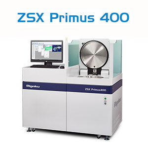Rigaku ZSX Primus 400 WDXRF for Large and Heavy Samples